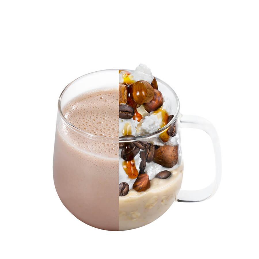hot caffe mocha winter drink
